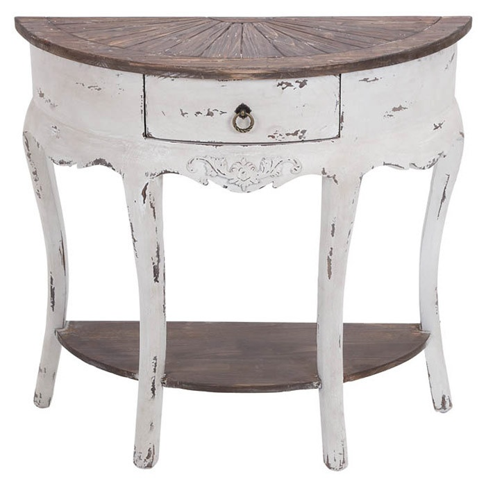 Charlotte Console Table so cute could use in a small entry way