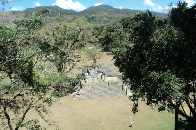 Round-Trip Transportation to Copan Ruins from San Pedro Sula Visit the most important Mayan site in Central America. This Mayan city is located at the Copan department just less than 3 hours away from San pedro Sula.  This day trip to Copan starts at 6:30am from your hotel in San Pedro Sula. You will be picked up and driven to the ruins where you will be able to take a tour with a local guide (not included in the price).You will depart from the ruins to make your wa...