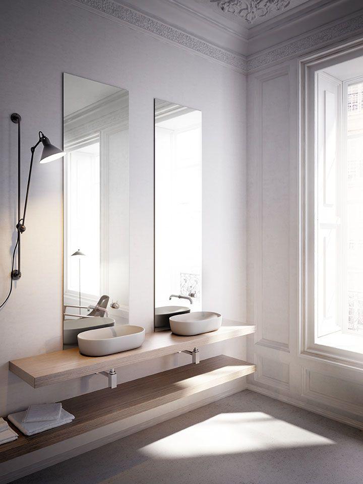 15 best lavabos de porcelana oval images on pinterest for Lavabos de porcelana