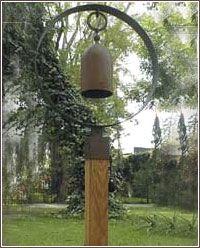 Garden Bells from stone-crafts.com