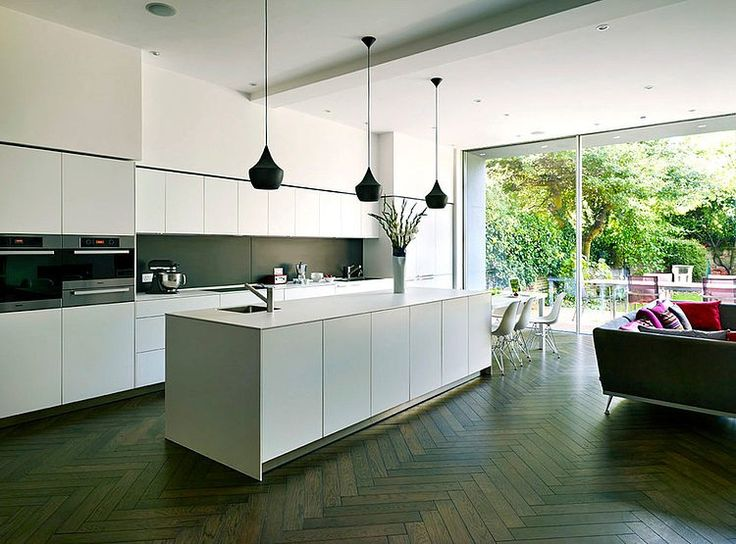 Nice spec on the cupboards, I like the idea of colour on the back-splash (not actual colour necessarily). Would want to be able to sit at the island though