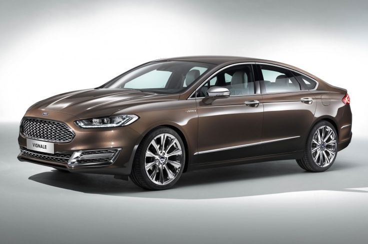 Ford Mondeo Vignale Concept Dresses Up European-Spec Fusion - Motor Trend WOT
