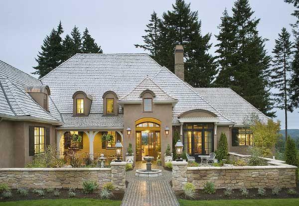 25 b sta country houses id erna p pinterest lantk k Luxury european house plans