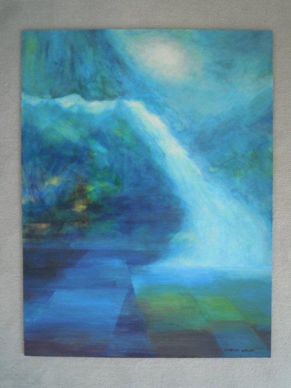 Waterfall - Lynley Welsh Artist