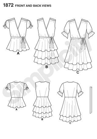 simplicity patterns 1872 - Buscar con Google: