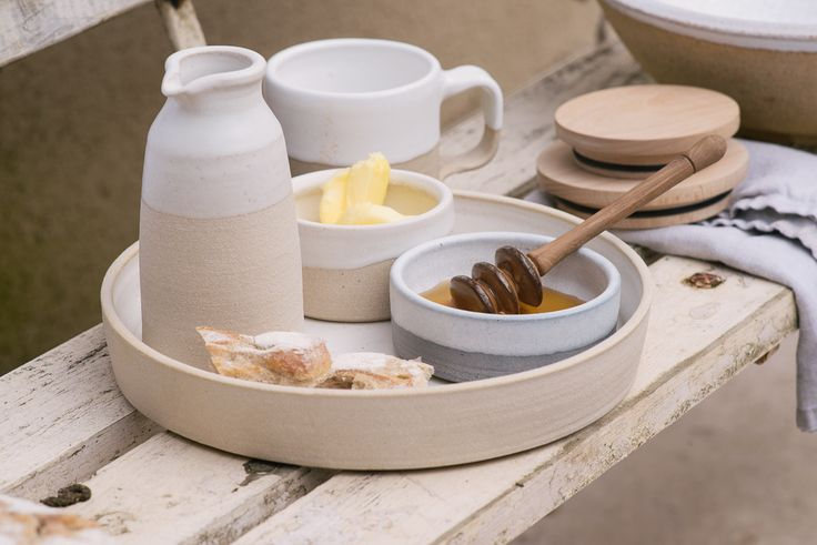 Beautiful muted tones of deVOL Kitchens new ceramics collection.