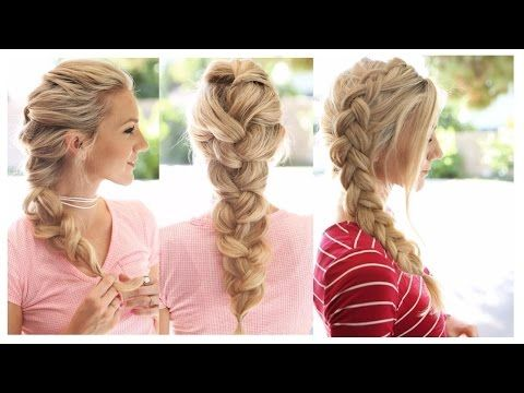 Fabulous 1000 Ideas About Easy Braided Hairstyles On Pinterest Braids Hairstyles For Men Maxibearus
