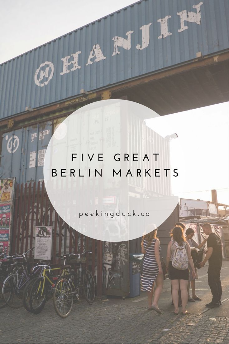From trendy street food trucks to traditional German market halls this is a guide to some really great food markets in Berlin. More at: http://peekingduck.co