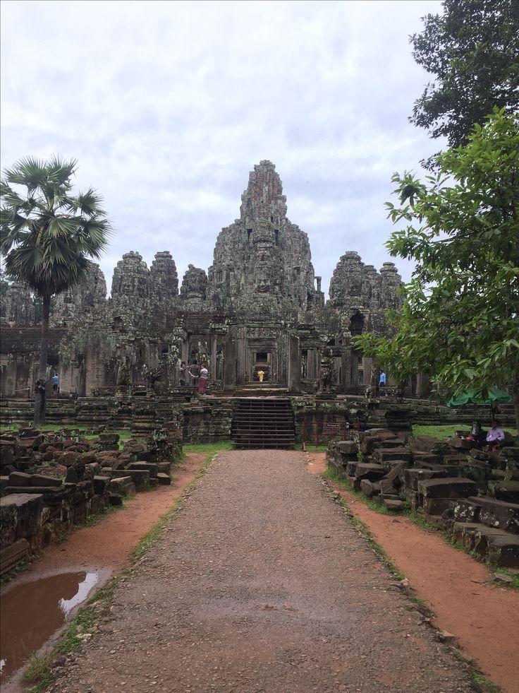 Bayon Temple Angkor Thom, Siem Reap, Cambodia
