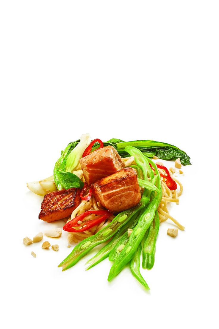 Regal Salmon Fresh Cuts Stir Fry with Peanut and Chilli  http://www.regalsalmon.co.nz/recipes/regal-salmon-fresh-cuts-stir-fry-with-peanut-and-chilli