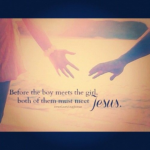Before the boy meets the girl
