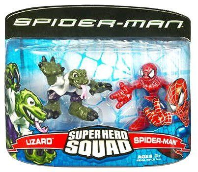 Spider-Man 3 Super Hero Squad Spider-Man vs. Lizard