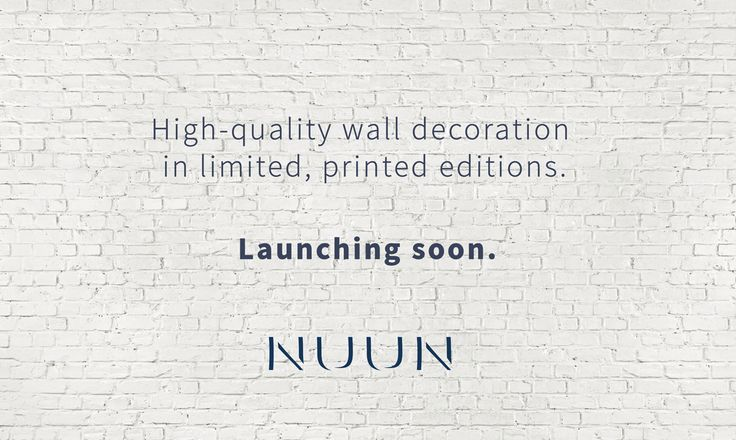 We are launching soon!