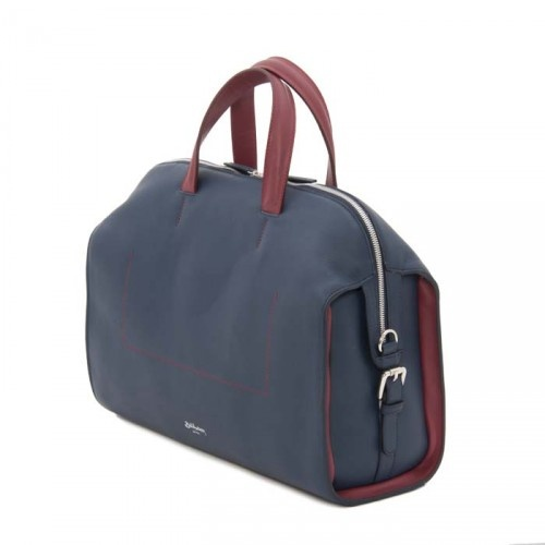 http://shop.billamberg.com/the-medicine/ This leather bag is our update of our classic medicine bag, perfect for those that need a briefcase or a daybag, the style and material bridges the gap between formal and informal and can easily transition between the two.