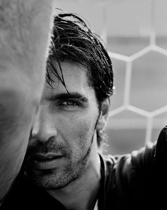 Gigi Buffon. Worlds best keeper! And may I just say, YUM! :)