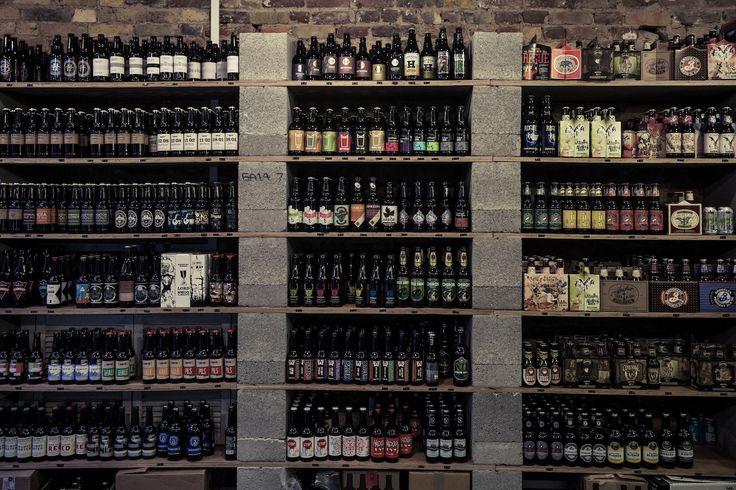 Clapton Craft bottle shelves