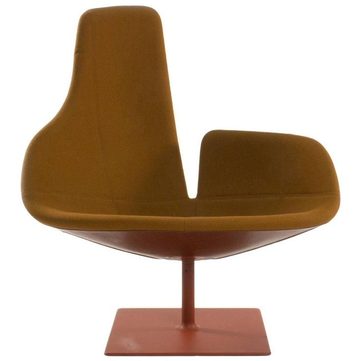 Moroso Fjord Relax Swivel Armchair By Patricia Urquiola, Italy