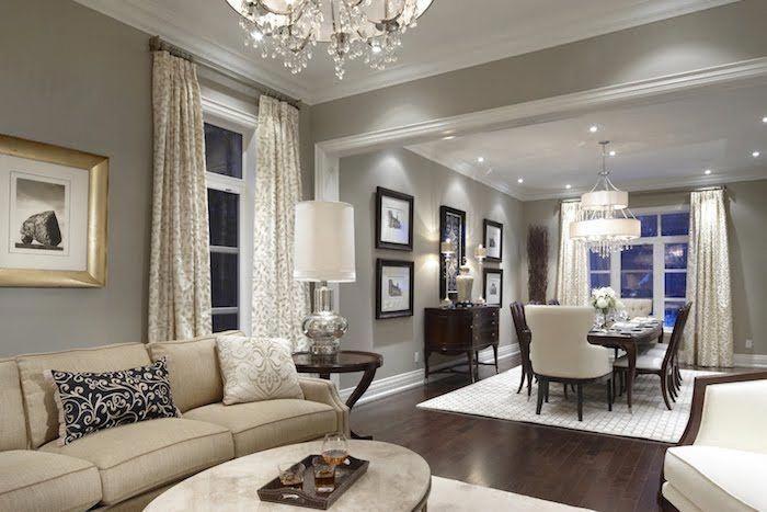 Welche Farben Passen Zusammen Wohnen Mit Stil Einfaches Zimmerdesign Dezent Und Elegant Beige Greige Living Room Beige Living Rooms Grey Walls Living Room