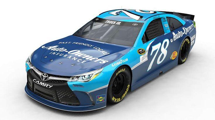 Jayski's® NASCAR Silly Season Site - 2016 NASCAR Darlington Throwback Paint…