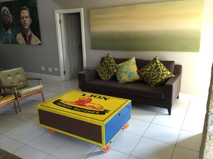 DIY matchbox coffee table #becauseIcan