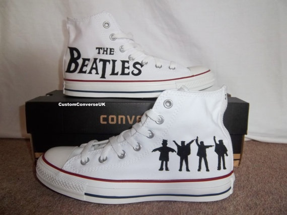 The Beatles Converse All Stars. Would put something heavy in them and give them to my friend Holly for bookends!