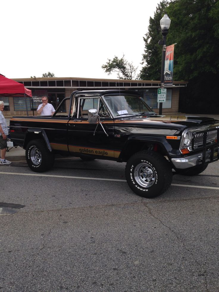 Golden Eagle Jeep Truck