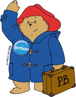 Paddington Bear for Action Medical Research