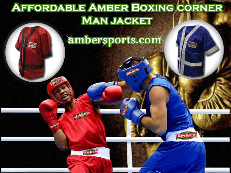 Make your fan's eye on you with our amazing collection of attractive Boxing corner man jackets and enjoy your fight with more confidence. Get your corner jackets at Ambersports.com