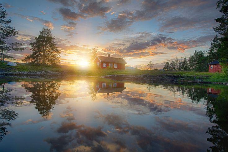 Soft evening light by Jørn Allan Pedersen on 500px