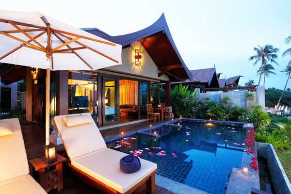 Chaweng boutique hotels resorts nora buri resort spa for Table 99 koh samui