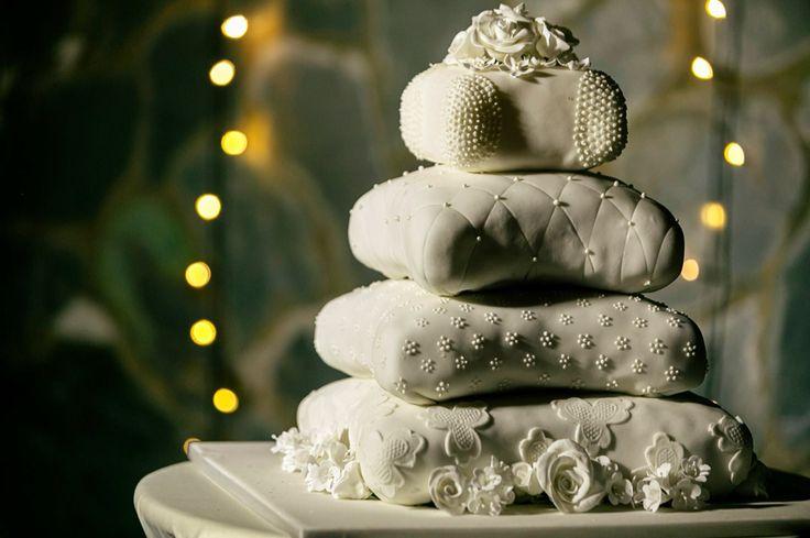 Ponqué de bodas.  www.laboda.com.co