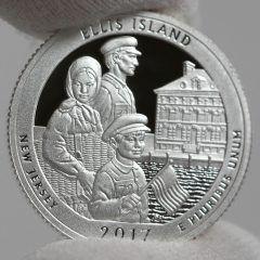 Gold Logs 11-Month High, Ellis Island 5 oz Bullion Coin Launches