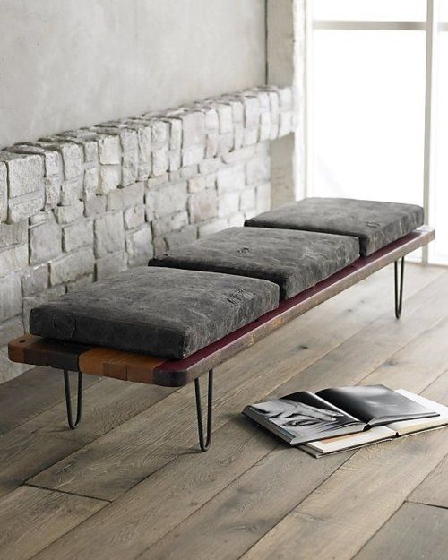 Bench .design .furniture modern mid century minimal skandinavia