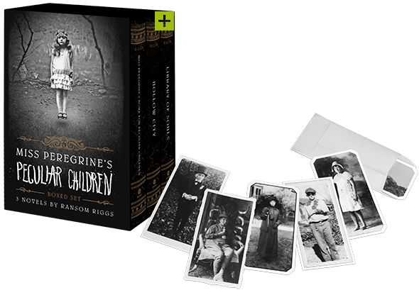 Miss Peregrine's Peculiar Children Boxed Set | Quirk Books : Publishers & Seekers of All Things Awesome