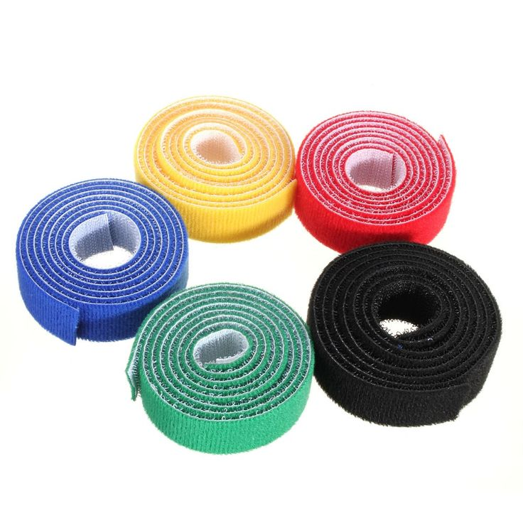 High quality 100cm*20mm Magic PC TV Computer Wire Cable Ties Organizer Maker Holder Management Straps/tie magic tape