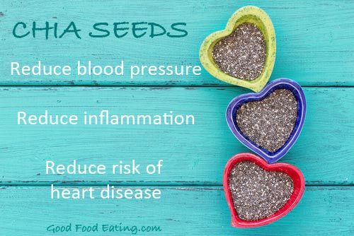 Chia seeds for heart health