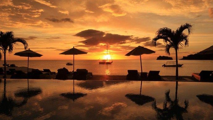 St. Vincent dans les Caraïbes !  Buccament Bay Resort www.spadreams.fr/pas-cher/st-vincent/st-vincent/kingstown/buccament-bay-resort/ #Caraïbes #voyage #vacances