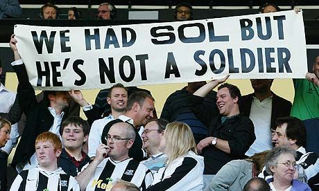 Notts County fans