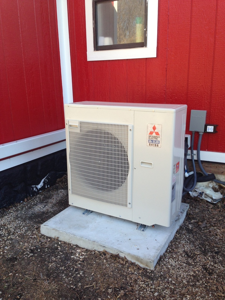 10 best residential ductless systems images on pinterest for Small house heating systems