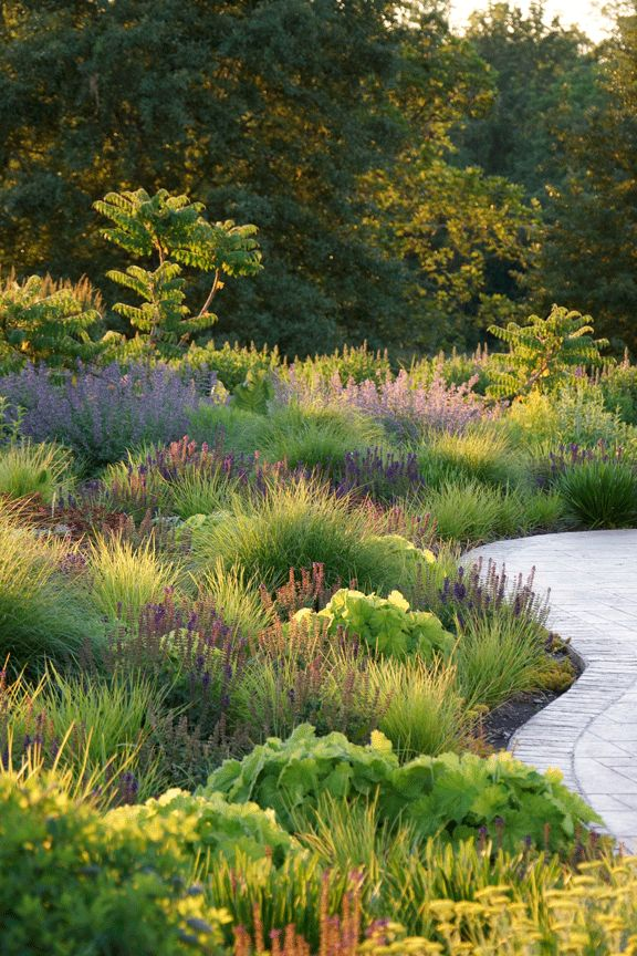 grounded design by Thomas Rainer: The Sabbatical Pinned to Garden Design - Planting Schemes by Darin Bradbury.