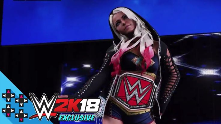 WWE 2K18 Exclusive - Alexa Bliss makes an entrance worthy of a goddess