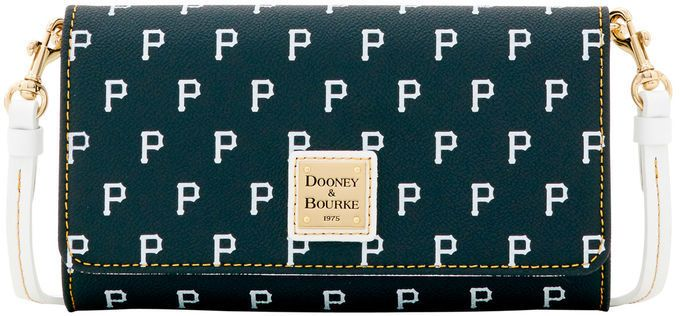 Dooney & Bourke MLB Pirates Daphne Crossbody Wallet