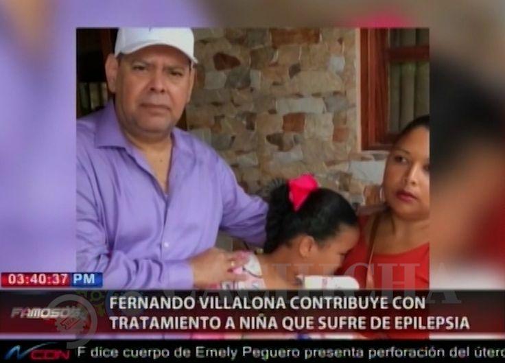 Fernando Villalona Se Conmueve Y Hace Un Donativo A Una Niña Gracias Al Pachá