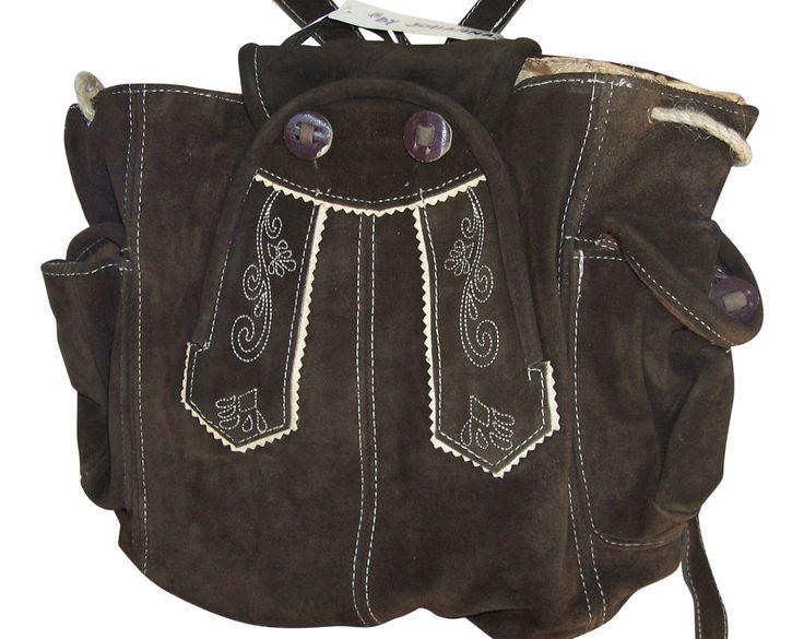 Handtaschen Rucksack Trachten Taschen Damentaschen  Echt Leder Braun Oktoberfest in Kleidung & Accessoires, Damenmode, Trachtenmode | eBay!