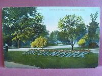 Old postcard  Lincoln Park Grand Rapids, MI