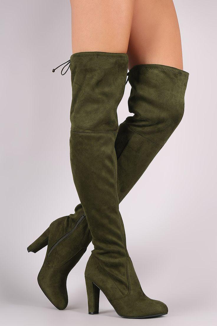 Wild Diva Over The Knee Boots   UrbanOG
