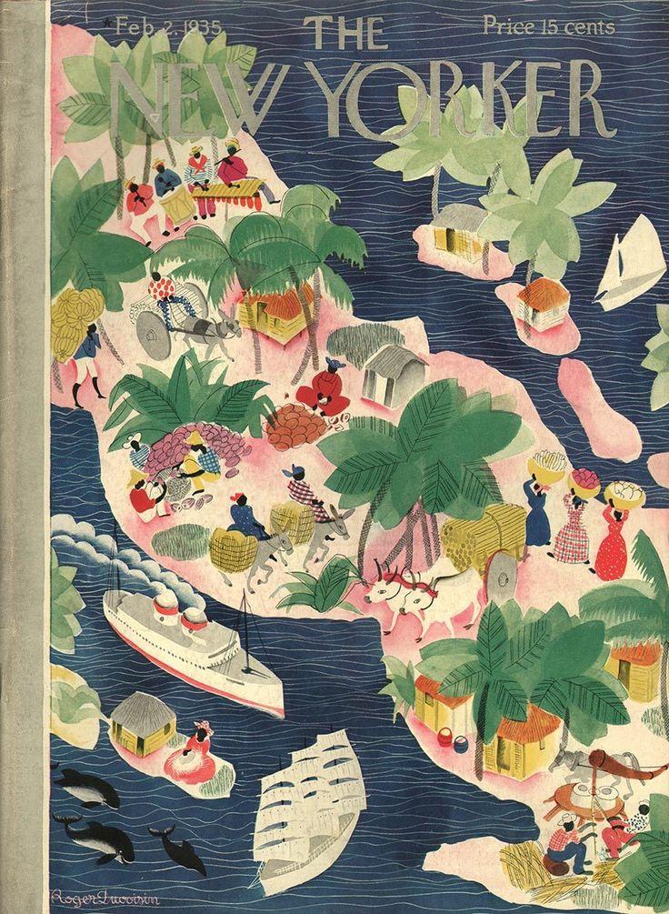 The New Yorker February 2 1935   Roger Duvoisin