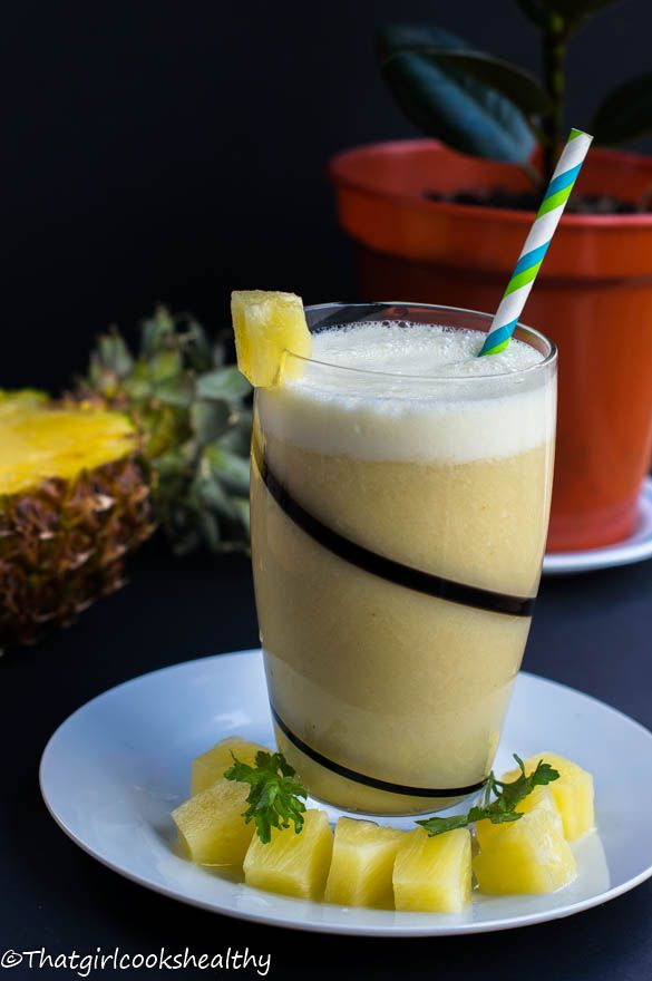 Jamaican sexy juice (sweet pineapple beverage)