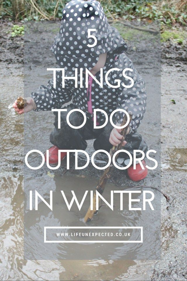 5 Things To Do Outdoors In Winter
