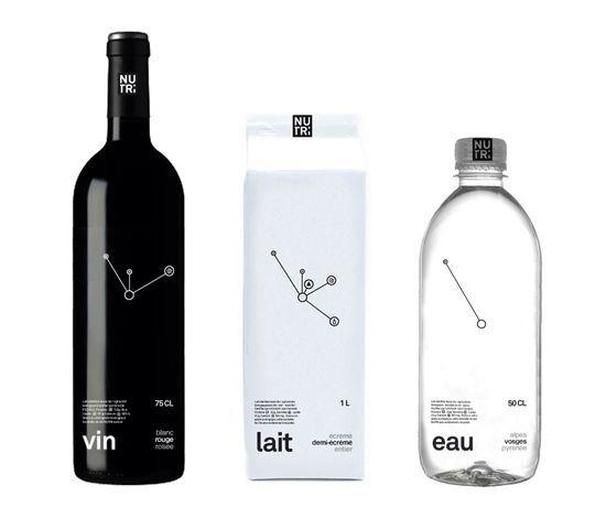 Bottle design graphics